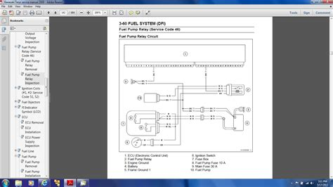 2009 zx10r wiring diagram repair wiring scheme