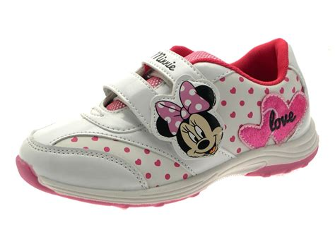 children s shoes for flat disney minnie mouse trainers flat pumps childrens