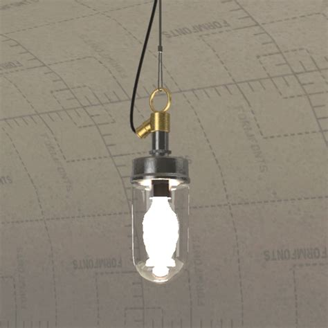 Dwr Lighting by Dwr Well Pendant 3d Model Formfonts 3d Models Textures
