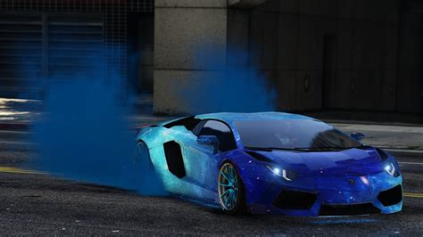 galaxy lamborghini blue galaxy livery for lamborghini aventador liberty