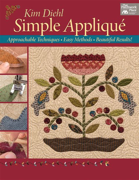 Quilting Applique Methods by Simple Applique Softcover By Diehl