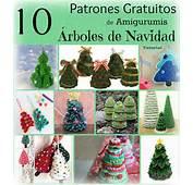 &193rboles Xmas Christmas Tree Free Pattern Holiday Crochet Ganchillo