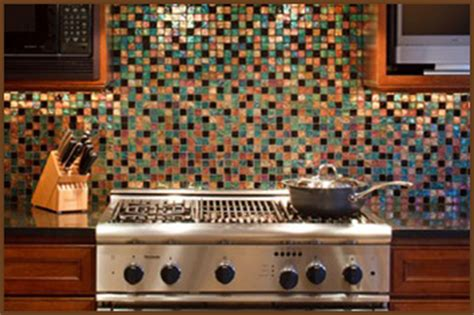 multi colored glass tile backsplash kitchens with backsplashes kitchen backsplash ideas