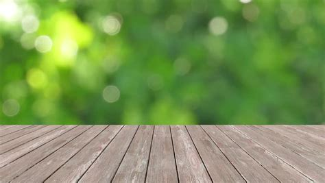 product background perspective wood and bokeh light background product