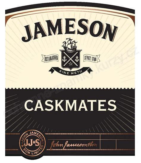 jameson established since 1780 sine metu caskmates jj amp s