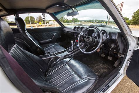 nissan 260z interior 1975 datsun 260z best laid plans