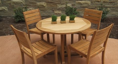 Acacia Wood Outdoor Furniture by Which Is The Best Wood For Outdoor Furniture The Basic
