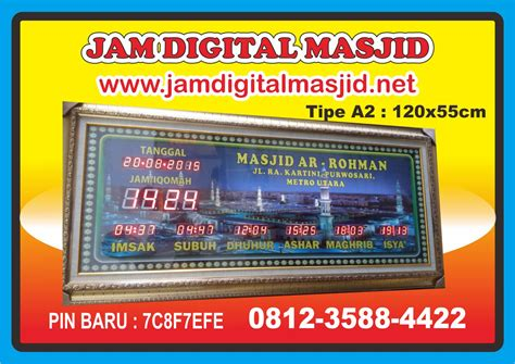 Harga Jam Digital wa 0813 2993 9370 daftar harga jam digital masjid jadwal
