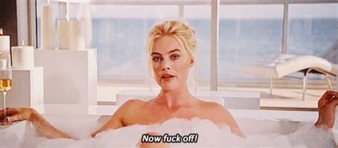newstar model robbie bath gif quot perhaps margot robbie in a bubble bath could explain this