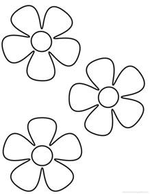 how to color flowers flowers coloring pages many flowers