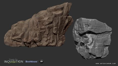 tutorial zbrush rock zbrush interview dragon age inquisition rocks