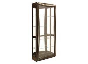 Curio Cabinets Raymour And Flanigan Gemini Curio W Lighting Curios Raymour And Flanigan