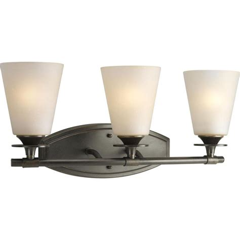Forged Lighting Fixtures Progress Lighting Cantata Collection 3 Light Forged Bronze