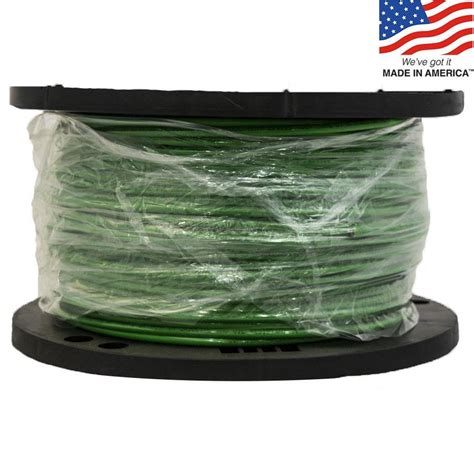 shop southwire simpull 500 ft 8 awg stranded green copper