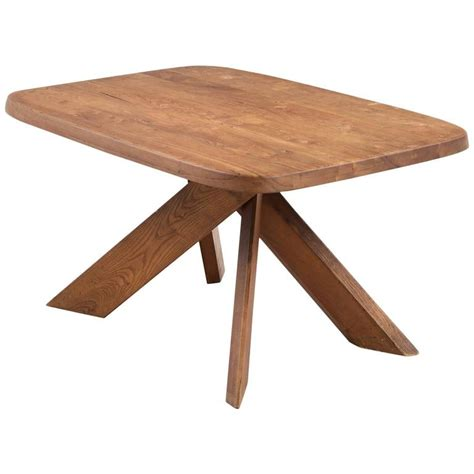 Unique Small Kitchen Tables Chapo T35b Small Dining Table With Unique Aged Patina For Sale At 1stdibs