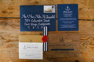 Tent Wedding with Chic Nautical Theme in San Diego
