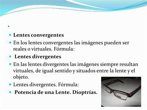 imagenes virtuales lentes convergentes f 237 sica 243 ptica lentes