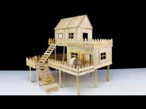 build my home how to make popsicle stick house for rat