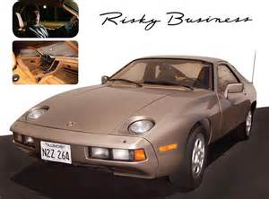 Risky Business Porsche Tom Cruise S Porsche From Risky Business To Be Auctioned