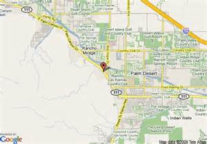 rancho mirage california map map of country inn and suites rancho mirage rancho mirage