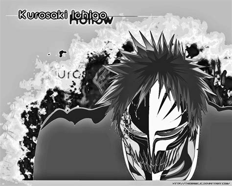 bleach  wallpapers hollow ichigo