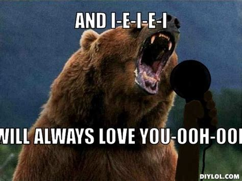 Bear Meme Generator - 12 things you can relate to if you re absolutely in love