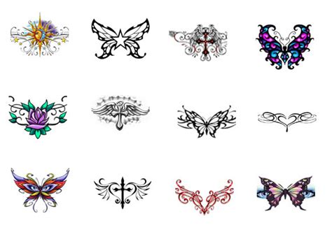 tattoo flash back 9 lower back tattoo design ideas for girls and women