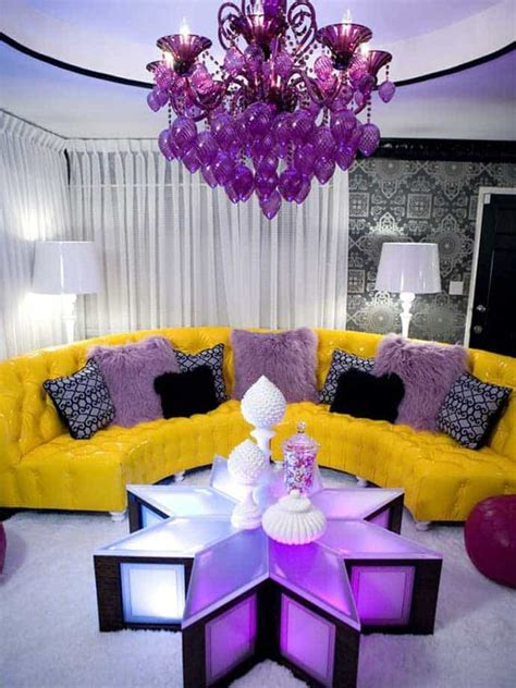 electric purple interiors