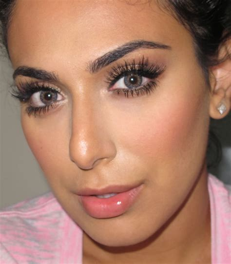 tutorial makeup natural glamour elegant makeup with flawless makeup tutorial with skincare