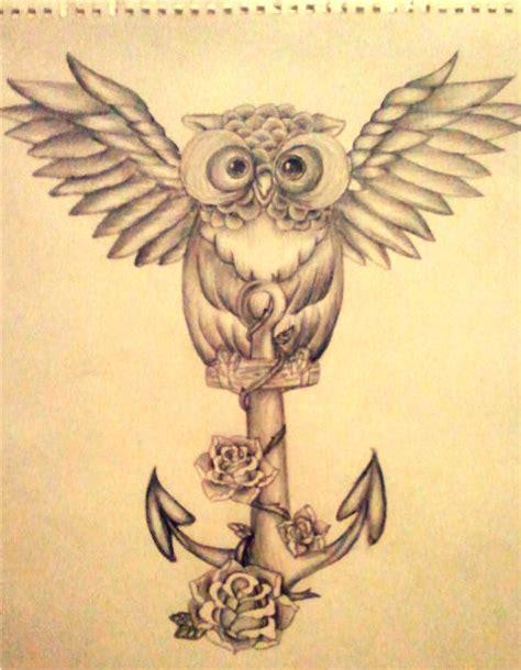 owl tattoo design by mahna mahna on deviantart