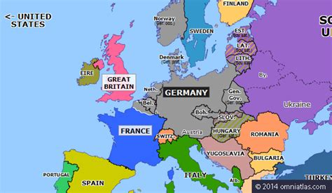 1940 map of europe blitzkrieg in the west historical atlas of europe 25