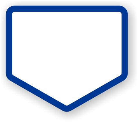 home plate best photos of home plate shape baseball home plate clip