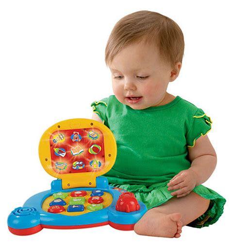 vtech baby s learning laptop blue toys