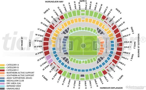etihad stadium afl seating plan looks like they are moving the seats in looks to be a