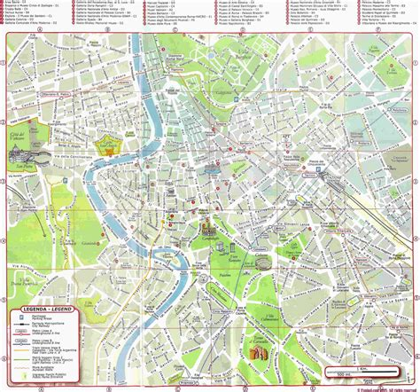 rome italy map rome map detailed city and metro maps of rome for orangesmile