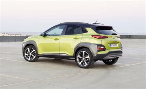 What Color Goes With Yellow And Red by 2018 Hyundai Kona A Four Minute First Drive
