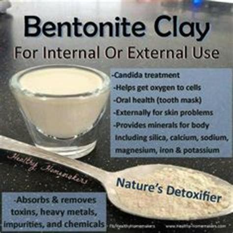 Clay For Detox Science by 1000 Images About Health Living Clays Diatomaceous