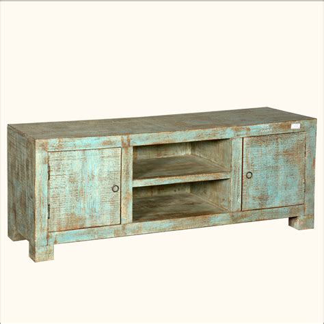 Wood Media Cabinet by Style Rustic Reclaimed Wood Green Tv Media