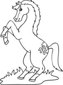 pobarvanke konj