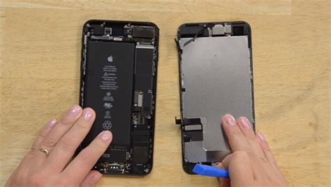 how to teardown iphone 7 plus to replace screen battery replacement