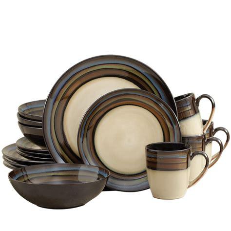 pfaltzgraff everyday galaxy blue 32 piece dinnerware set