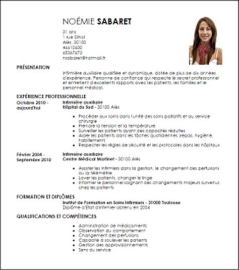 Lettre De Présentation Infirmière Exemple Cv Infirmier Auxiliaire Livecareer