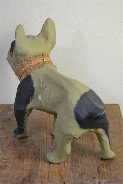 How To Make Paper Mache Toys - papier m 226 ch 233 bulldog for sale at 1stdibs