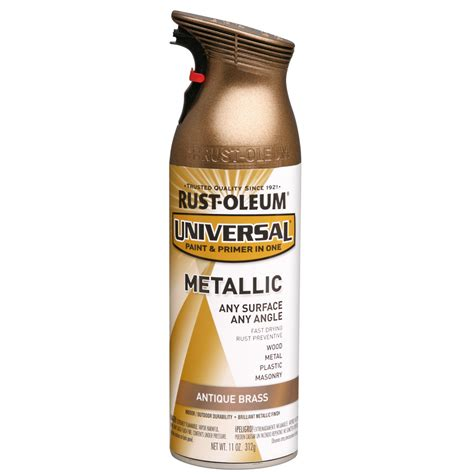 home depot spray paint return policy shop rust oleum 11 oz aged brass spray paint at lowes