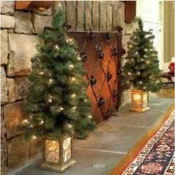 outdoor lighted decorations sale sale set of 2 lighted prelit porch trees outdoor