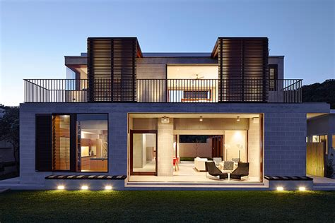 Home Design Architects Porebski Architects Adapts The Block House To Pearl Beach