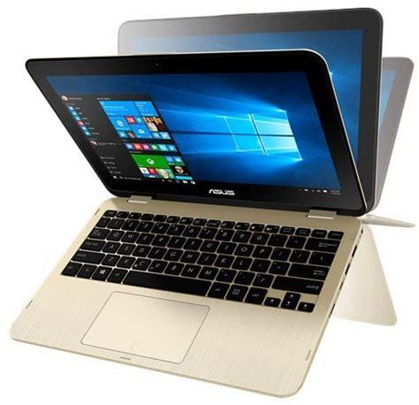 Laptop Asus Second Toko Bagus asus vivobook flip tp203nah bp045t 2 in 1 laptop intel celeron n3350 11 6 inch hd touch
