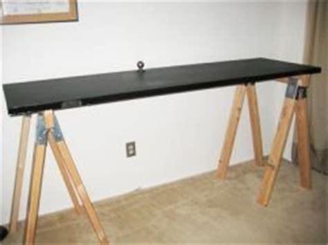 18 Diy Sawhorse Desk Plans Guide Patterns Sawhorse Standing Desk