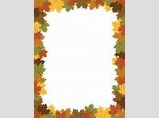 Thanksgiving Border - Clipartion.com Oak Leaf Pictures Clip Art