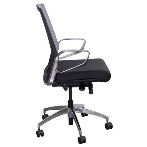 grey leather conference chairs gosit leather and mesh conference chair black and gray